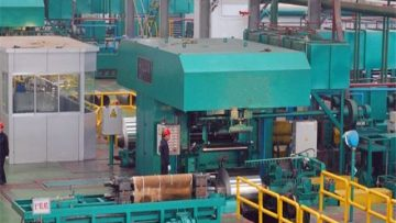 Aluminum foil rolling mill for foil industry