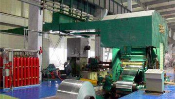 Aluminum foil rolling machine